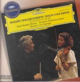 Anne Mutter-Sophie / Berlin Philharmonic Orchestra - Violin Concertos Nos. 3 & 5 (CD)