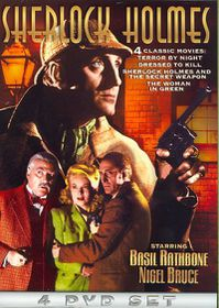 Sherlock Holmes: Terror by Night/Dressed to Kill/And The Secret Weapon/Woman in Green - (Region 1 Import DVD)