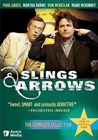 Slings & Arrows:Complete Collection - (Region 1 Import DVD)