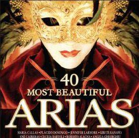 40 Most Beautiful Arias - Various Artists (CD)