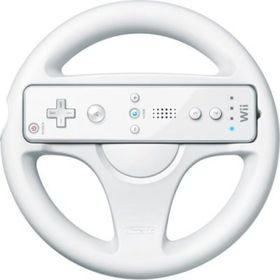 Official Wii Wheel (Wii) - Wii Remote Not Included (White)