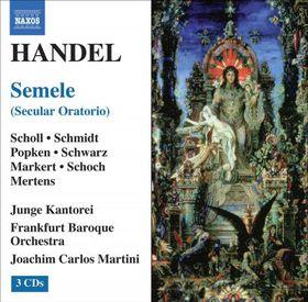 Handel - Handel Semele Frankfurt Bo Martini (CD)