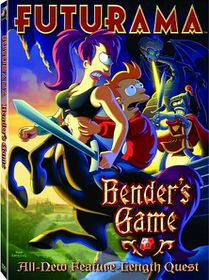 Futurama:Bender's Game - (Region 1 Import DVD)
