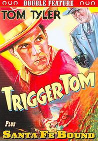 Tom Tyler Double Feature:Trigger Tom/ - (Region 1 Import DVD)