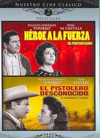Heroe a La Fuerza/El Pistolero Descon - (Region 1 Import DVD)