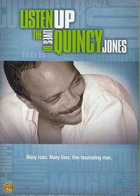 Listen up the Lives of Quincy Jones - (Region 1 Import DVD)
