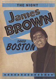 Night James Brown Saved Boston - (Region 1 Import DVD)