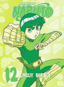 Naruto Uncut Box Set 12 - (Region 1 Import DVD)