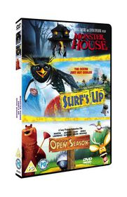 Surf's Up/Open Season/Monster House - (Import DVD)