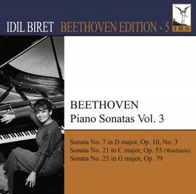 Beethoven:piano Sonatas Vol 3 - Piano Sonatas - Vol.3 (CD)