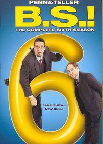 Penn & Teller:B S Complete 6th Season - (Region 1 Import DVD)