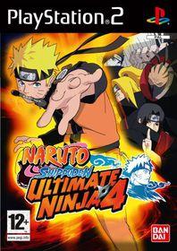 Ultimate Ninja 4: Naruto Shippuden (PS2)