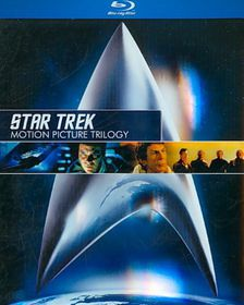 Star Trek:Motion Picture Trilogy - (Region A Import Blu-ray Disc)