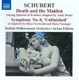 Schubert: Death And The Maiden - Buffalo Po/Falletta (CD)