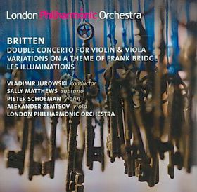 Britten: Double Conceryto For Vn & Vla - Double Concerto For Violin & Viola (CD)