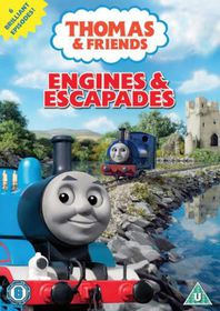 Thomas the Tank Engine and Friends: Engines and Escapades - (Import DVD)