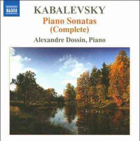 Kabalevsky: Comp Piano Sonatas - Dossin (CD)