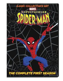 Spectacular Spider-Man: Complete First Season - (Region 1 Import DVD)
