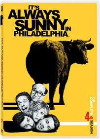 It's Always Sunny in Philadelphia Season 4 - (Region 1 Import DVD)
