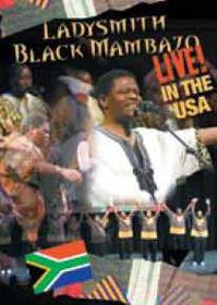 Ladysmith Black Mambazo - Live In The USA (DVD)