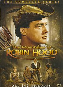 Adventures of Robin Hood:Comp Series - (Region 1 Import DVD)