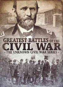 Greatest Battles of the Civil War - (Region 1 Import DVD)