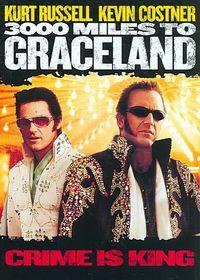 3000 Miles to Graceland - (Region 1 Import DVD)