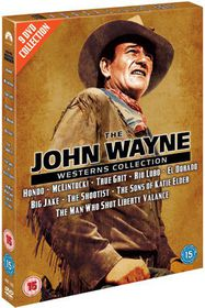 The John Wayne Westerns Collection - (Import DVD)