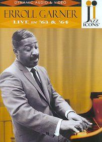 Erroll Garner Live In 63/64 (jazz Icons) - Live In 63/64 (DVD)