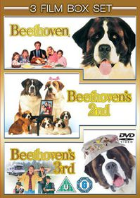 Beethoven / Beethoven's 2nd / Beethoven's 3rd - (Import DVD)