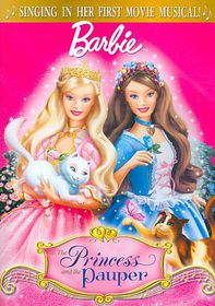 Barbie As the Princess and the Pauper - (Region 1 Import DVD)