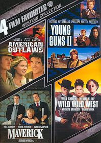 4 Film Favorites:Western Collection - (Region 1 Import DVD)