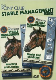 Pony Club Stable Management: Health and Condition and Handling & Leading - (Import DVD)