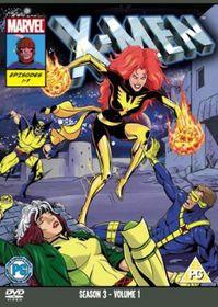 X-Men: Season 3 - Volume 1 - (Import DVD)