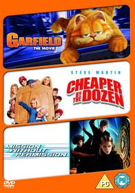 Garfield Movie/Cheaper By the Dozen/Mission Without Permission - (Import DVD)
