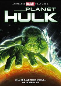 Planet Hulk - (Region 1 Import DVD)