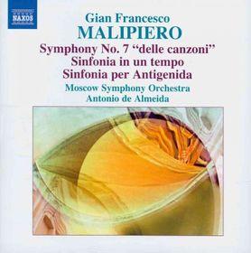 Malipiero: Symphonies Vol7 - Symphonies - Vol.7 (CD)