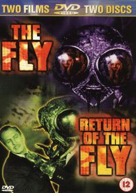 The Fly / Return of the Fly (1958/59)  (Import DVD)
