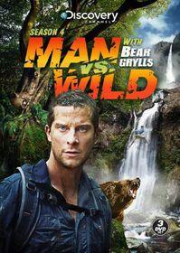 Man Vs Wild:Season 4 - (Region 1 Import DVD)