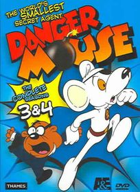 Danger Mouse:Complete Seasons 3 & 4 - (Region 1 Import DVD)