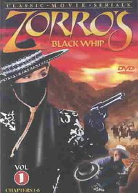 Zorro's Black Whip Vol 1 - (Region 1 Import DVD)