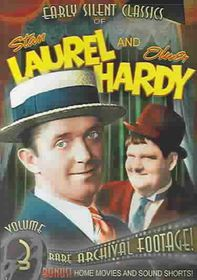 Stan Laurel & Oliver Hardy Classics Vol 3: Silent And Sound - (Region 1 Import DVD)