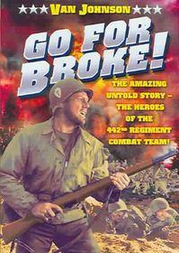 Go for Broke - (Region 1 Import DVD)