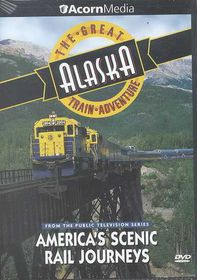 Great Alaska Train Adventure - (Region 1 Import DVD)