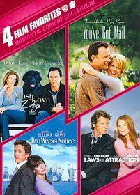 4 Film Favorites:Romantic Comedy Coll - (Region 1 Import DVD)