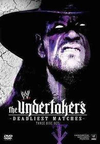Undertaker's Deadliest Matches - (Region 1 Import DVD)