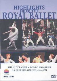 Highlights from the Royal Ballet - (Region 1 Import DVD)
