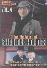 Return of Sherlock Holmes - Vol. 4: The Devil's Foot/Silver Blaze/The Bruce Partington Plans - (Region 1 Import DVD)