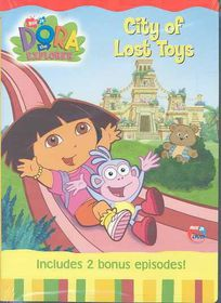 Dora the Explorer:City of Lost Toys - (Region 1 Import DVD)