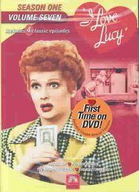 I Love Lucy:Season One Vol 7 - (Region 1 Import DVD)